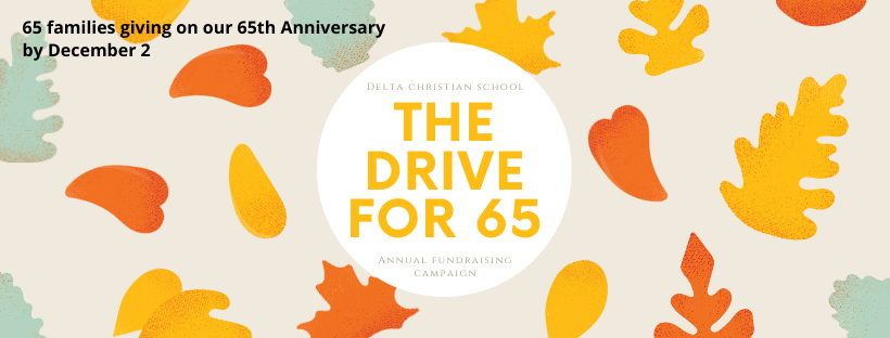 Delta Christian School Drive to 65